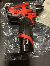 """Brand New Milwaukee 2504-20 M12 FUEL 1/2"""" Hammer Drill With Battery & Charger"""