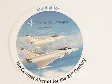 Eurofighter Daimler-Benz Aerospace Military Aircraft Sticker New Military