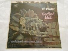 Les Baxter The Sacred Idol LP 1st Press Stereo logo left Exotica EXCELLENT