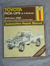 Haynes Toyota Pick-Ups & 4-Runner 1979 thru 1995 Automotive Repair Manual, 656