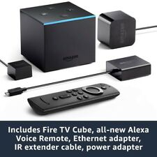 Fire Tv Cube Hands-Free With Alexa And 4K Ultra HD Streaming Media Player+BONUS