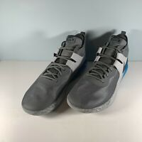 Nike Air Max Impact Basketball Shoe Grey/Blue Size 15