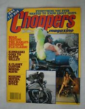 Choppers Magazine March 1979