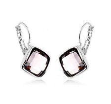 Markenloser Mode-Ohrschmuck im Hänger-Stil mit Kristall-Hauptstein für Damen