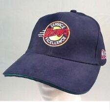 WENDYS FAST FOOD WHERES THE BEEF NAVY BLUE SERVICE / EXCELLENCE EMPLOYEE CAP NEW
