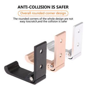 Aluminum Alloy Headphone Holder Wall Hanger Hook Foldable Stand HolderBDAU
