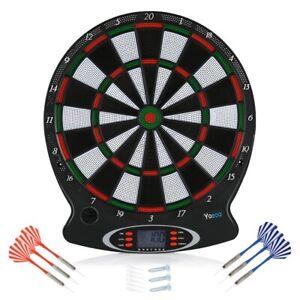 Dartscheibe Elektronisch Dartboard Elektrische Dart Dartspiel mit 6 Pfeile DHL