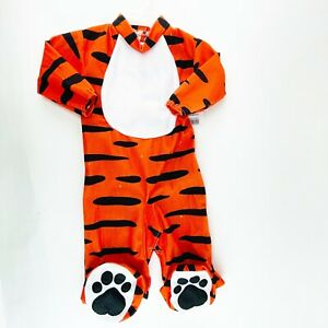 Tiger Baby Boy Girl Infant Halloween Costume 6 12 Months NWT Bodysuit ONLY