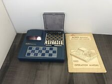 AUTHENTIC VINTAGE 1979 BORIS DIPLOMAT ELECTRONIC CHESS COMPUTER WITH MANUAL
