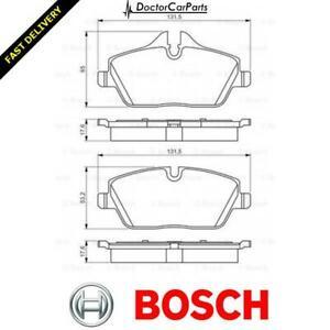Bosch Brake Pads Set Front Fits Mini Coupe R58 Cooper UK Bosch Stockist #1