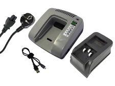 Powersmart 7.2-18v Caricabatteria per Festool CDD12FX 487701 490017 Grigio