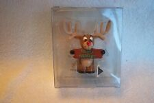 Claire's Happy Holidays Resin Reindeer Ring Holder Nip