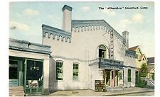 Stamford Conn CT - THE ALHAMBRA THEATRE - Postcard