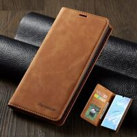 Magnetic Leather Case Wallet Flip Stand Cover For Huawei Mate 20 30 P20 P30 Pro