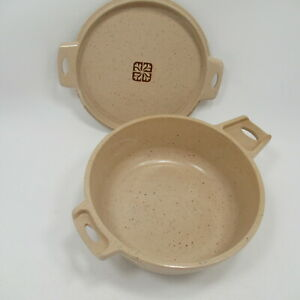 Vintage LittonWare Microwave 2 Cup Round Casserole Dish 39278   With Lid 39277
