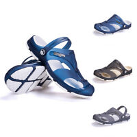 Men Casual Sandals Closed Toe Non-slip Fisherman Flip Flops Beach Shoes Casual