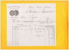 """NANCY & METZ (54 / 57) USINE de CHAUSSURES """"TISSERANT / HERBIN & PIGEON"""" en 1881"""