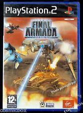 FINAL ARMADA jeu de guerre PS2 pour console sony PlayStation 2 NEUF sous blister
