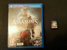 **ASSASSIN'S CREED III - LIBERATION - PS VITA GAME - GREAT CONDITION ASSASSINS**