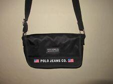 Vintage 90's Ralph Lauren Polo Jeans Co Black Nylon Purse Shoulder Bag Sport