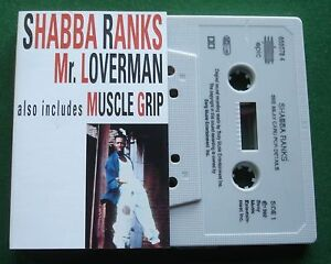 Shabba Ranks Mr Loverman / Muscle Grip Cassette Tape Single - TESTED