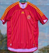 Spain Football Soccer Home Shirt 2006-2008 ORIGINAL adidas climacool (9/10)