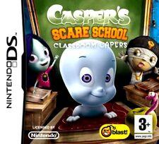 CASPER'S SCARE SCHOOL CLASSROOM CASPER  GAME DS DS DS LITE 3DS 2DS DSI 3DS XL