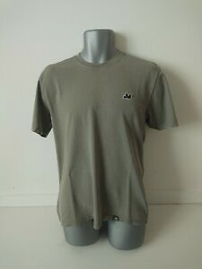 Peaceful Hooligan Size Large Mens Green Short Sleeve Crew Neck T-Shirt