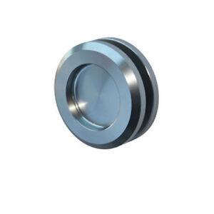 CCH H65 Flush Pull Handle For Frameless Glass Sliding Doors, Back to Back