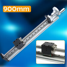 CNC Linear Guide Rail Slide Stage Actuator Ball Screw Motion Table W/ Handwheel