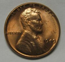 1949 Lincoln Wheat Cent in the CH BU Range Nice Coins DUTCH AUCTION