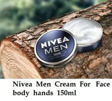 Nivea Men Creme Cream For Face body hands 150ml Moisturizer Fast And Free Ship