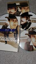 Butch Cassidy and the Sundance Kid Blu-ray Disc, Works, comes with Dvd case