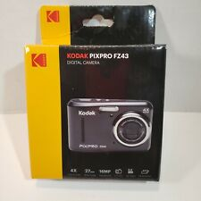 Kodak PIXPRO FZ43 16 MP HD Video 4X Optical Zoom AA Battery Digital Camera Black