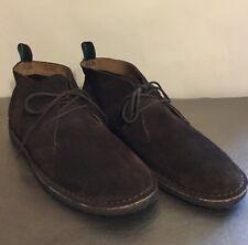Ralph Lauren Polo Brown Suede Casterton Chukka Boots Size 13D