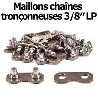 """Maillons de chaîne tronçonneuse 3/8"""" LP. 10 maillons. ( 0,50)"""