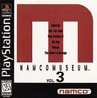 Namco Museum Vol. 3 (PlayStation 1, PS1) Disc Only, Tested, Fast Free Shipping!