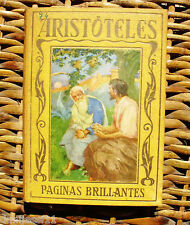 Aristóteles/ Páginas brillantes/ José Poch Noguer/ Araluce