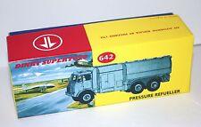 Riproduzione DINKY BOX 642 rifornitore di combustibile a pressione stile unico diorama CODICE 3 Design
