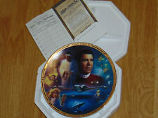 "Hamilton Star Trek The Movies - IV ""The Voyage Home"" Collector Plate - COA 0692F"