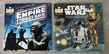 2 1979 STARWARS RECORD BOOKS - STAR WARS & EMPIRE STRIKES BACK