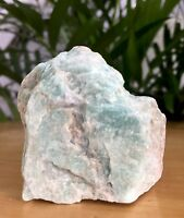 Raw Amazonite Mineral Specimen Rough Amazonite Crystal Gemstone Reiki Chakra.