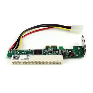 StarTech PEX1PCI1 PCIE to PCI Adapter Card New