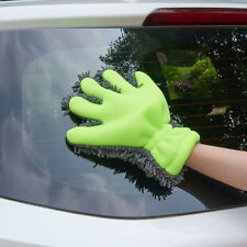 Five Finger Glove Duster Chenille Microfiber Car Cleaning Washing Drying Gloves