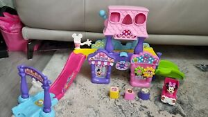 VTech toot toot drivers Go!Go! Smart Wheels Disney Minnie Mouse Ice Cream Parlor