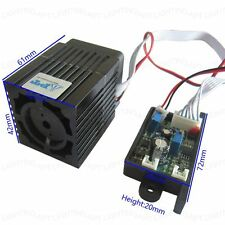Focusable 200mw DIY 532nm green DPSS Laser module  with TTL Continuous work