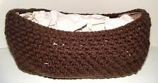 Newborn Nest Pod Peanut Basket Brown Baby Infant Photo Prop Props Made in Usa