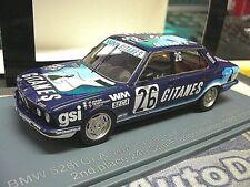 BMW 5er E28 528i 24h Spa 1982 #26 Gitane s ETCC Jarier Tassin NEO Resin SP 1:43
