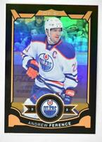 2015-16 O-Pee-Chee Rainbow Black #22 Andrew Ference /100 - NM-MT