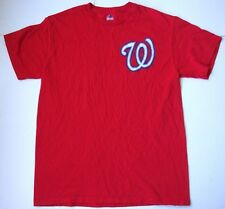 Men's WASHINGTON NATIONALS T shirt size medium M